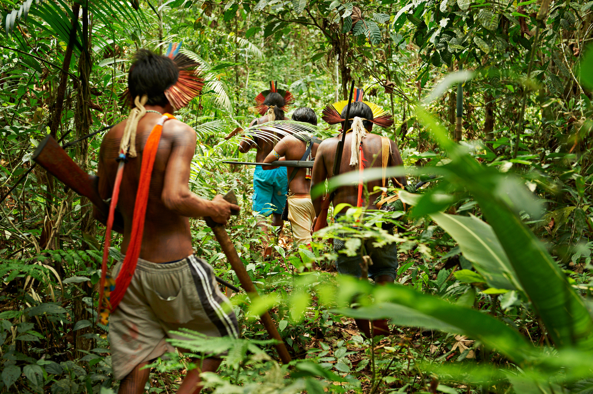 AN Amerindian group called the Kayapo has protected an a vast Amazon ecosystem against a crushing wave of development their tribal lands are the largest tract of protected tropical forest in the world. In contrast to stories of indigenous people exploited by the extraction of resources from their territories, the Kayapo offer a remarkable success story.. Their success is a direct result of who they are: warriors, whose strong sense of community and ritual traditions has allowed them to protest, pressure...and prevail. At the start of 2011, the Brazilian government approved the $17 million construction of the Belo Monte dam on the Xingu River. Projected to be the world's third-largest hydroelectric dam, the project has faced fierce opposition by the Kayapo, environmentalists, and international figures.