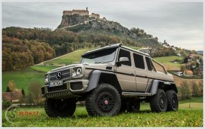 OffRoad: Mercedes G63 AMG 6×6