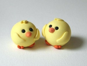 cool-clay-ideas-polymer-clay-chicks-no-instructions-just-the-idea-clay-crafts-for-toddlers